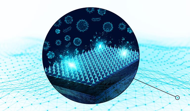 microbe shield graphic